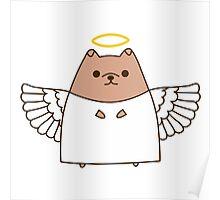 Cute Christmas Angel Pupsheen Poster
