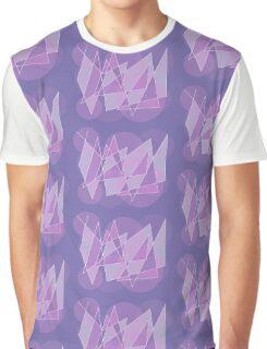 Geometric Shatter Graphic T-Shirt