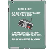 True story (white version) iPad Case/Skin
