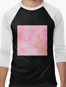 The Best Things In Life Are Unseen - Flower Art Men's Baseball ¾ T-Shirt