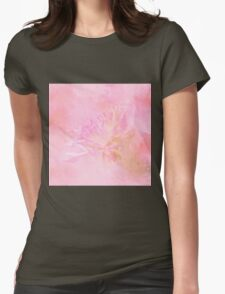The Best Things In Life Are Unseen - Flower Art Womens Fitted T-Shirt