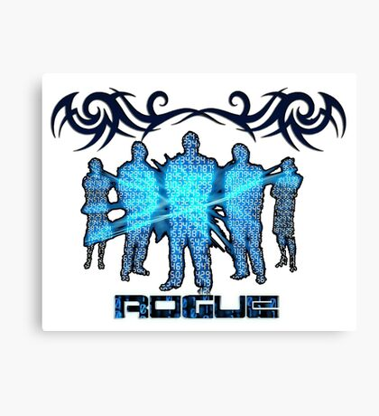 ROGUE MATRIX Canvas Print