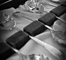 Old spoons by Karen Tregoning