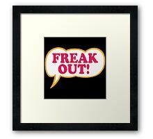 Zappa - Freak Out  Framed Print