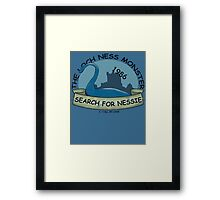 Lochness - I still Believe Framed Print