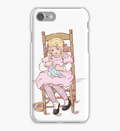 Sewing time iPhone Case/Skin