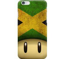 Jamaica Mario's mushroom iPhone Case/Skin