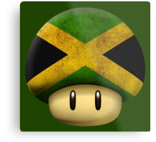 Jamaica Mario's mushroom Metal Print