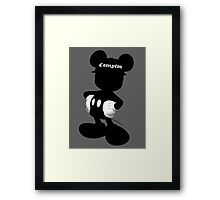 Compton Mickey Framed Print