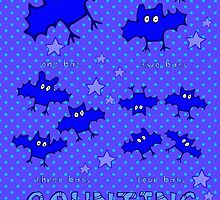 Nits ... for Kids - Counting Bats poster by aint-no-zombie