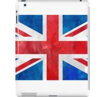 Union Jack Watercolor art iPad Case/Skin