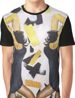 dripping gold Graphic T-Shirt