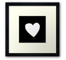 Big Heart Framed Print