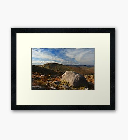 Towards Lavaghmore From Croaghgorm Framed Print