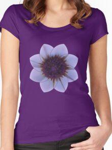 Flower Motive 1 Women's Fitted Scoop T-Shirt