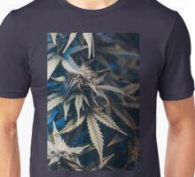 Weed indica sativa cannabis design floral hemp marijuana Unisex T-Shirt