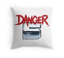 DANGER 5 SERIES 2 EMBLEM Throw Pillow