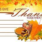 Invitation to Thanksgiving by Ann12art