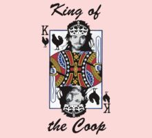 King of the Coop (light shirts ) Kids Clothes