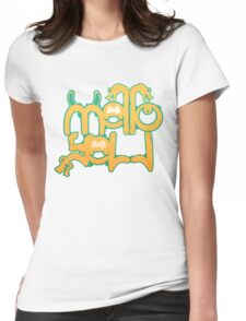Mellow yell Womens Fitted T-Shirt