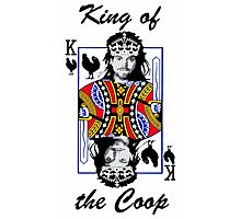King of the Coop (light shirts ) Photographic Print