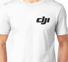 DJI simple Logo black Unisex T-Shirt