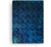 Puzzle Patterns Canvas Print