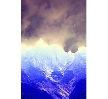 abstract mountain Photographic Print