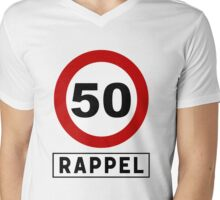 Rappel - 50 Mens V-Neck T-Shirt