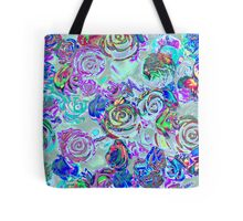 abstract colored roses stones Tote Bag