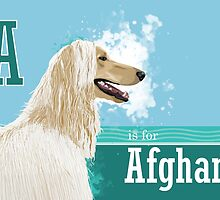 A is for Afghan by Ludwig Wagner