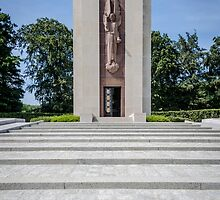 Luxembourg American Cemetery War Memorial by Sue Martin