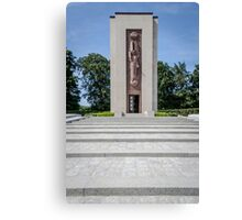Luxembourg American Cemetery War Memorial Canvas Print
