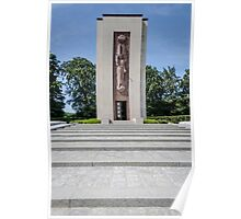 Luxembourg American Cemetery War Memorial Poster