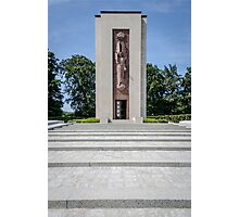 Luxembourg American Cemetery War Memorial Photographic Print