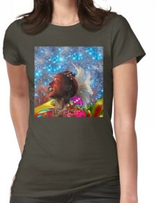African Star Dreamer Womens Fitted T-Shirt