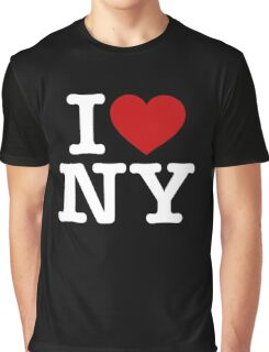 I Love NY New York Graphic T-Shirt