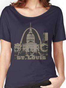 St. Louis Two-Tone Women's Relaxed Fit T-Shirt