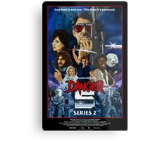 DANGER 5 SERIES 2 OFFICIAL POSTER Metal Print