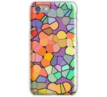 Canvas Art - Digital Background - Colorful Bubbels iPhone Case/Skin