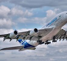 Airbus A380 - Take-Off by © Steve H Clark Photography