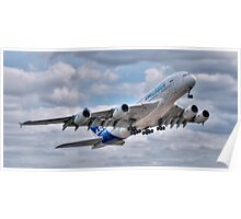 Airbus A380 - Take-Off Poster