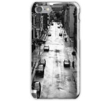 Birmingham City Centre, Edmund Street with Old library in background. iPhone Case/Skin