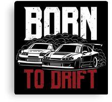 Born to drift. Silvia & Supra Canvas Print