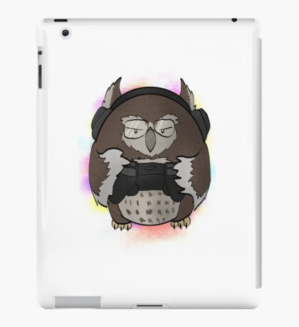 Gamer Owl iPad Case/Skin