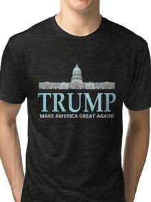 donald-trump-white-house Tri-blend T-Shirt