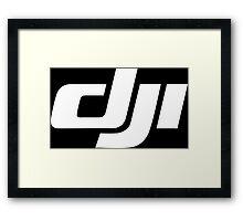 DJI logo Drone UAV Framed Print