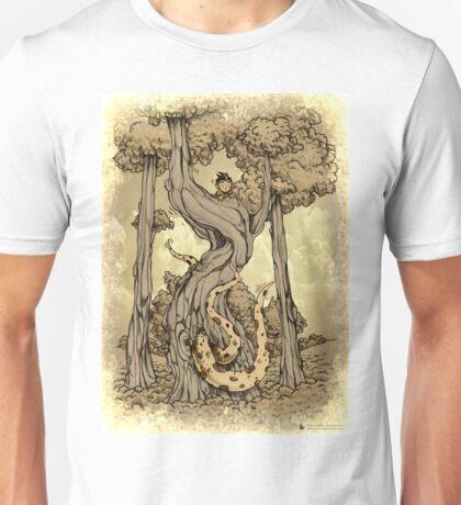 Dangerous tentacle! Unisex T-Shirt