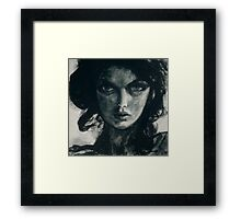 Portrait of Betcee May Framed Print