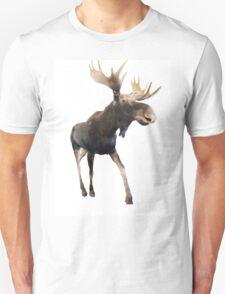 Walking Moooooose Unisex T-Shirt